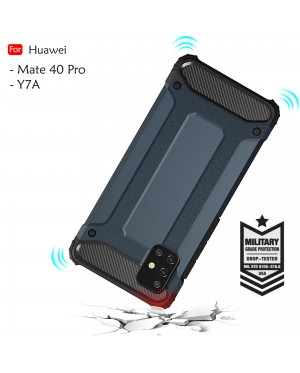 Huawei Y7A Mate 40 Pro Rugged Armor Protection Case Cover Hard  Casing Shockproof Housing