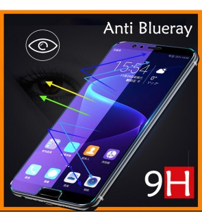 Oppo F5 Oppo A93 Oppo A53 Anti Blueray Full Cover Tempered Glass Screen Protector Anti Finger Print