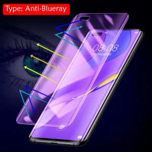 Anti Blueray Huawei Mate 40 Pro Nano Hydrogel Shield Full HD Clear Protection Soft Silicone Screen Protector Guard