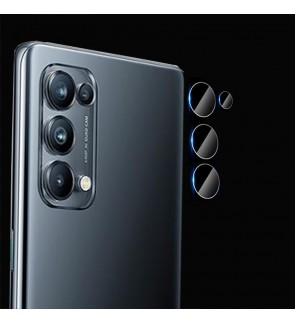 Oppo Reno 5 Reno 5 Pro A15 Crystal Clear Full HD Camera Lens Tempered Glass Transparent Screen Protector