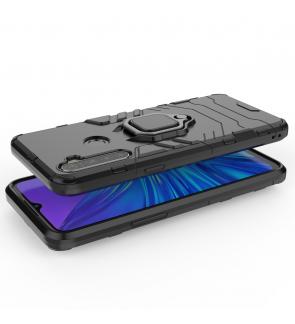 Realme 7 5G Realme 5S Realme 5i Car Holder Case Cover Casing Full Protection Phone Mobile Housing Iring