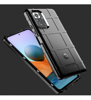 Xiaomi Redmi Note 10 Note 10S Note 10 Pro Poco F3 Rugged Shield Thick TPU Shockproof Case Cover Casing Phone Housing