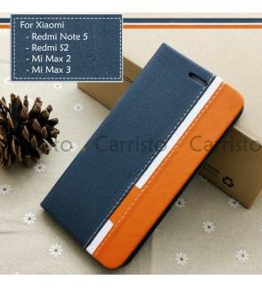 Xiaomi Redmi Note 5 Redmi S2 Mi Max 2 Max 3 Horizon Flip Case Card Bag Cover Stand Pouch Leather Casing Phone Housing