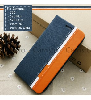 Samsung Galaxy S20 Plus Ultra S20+ Note 20 Ultra Horizon Flip Case Card Bag Cover Pouch Leather Casing Phone Housing
