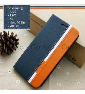 Samsung Galaxy Note 10 Lite S10 lite A10S A20S A71 Horizon Flip Case Card Bag Cover Pouch Leather Casing Phone Housing