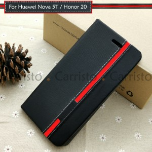 Huawei Nova 5T Honor 20 Pro V20 View 20 Honor 20 Lite Horizon Luxury Flip Case Card Bag Cover Pouch Leather Casing Phone