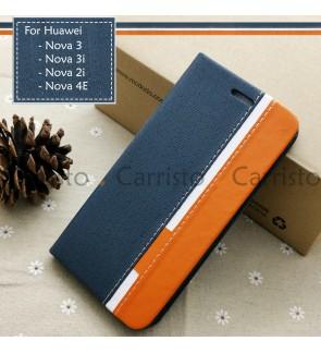 Huawei Nova 4E Nova 2i Nova 3 Nova 3i Horizon Luxury Flip Case Card Bag Cover Stand Pouch Leather Casing Phone Housing