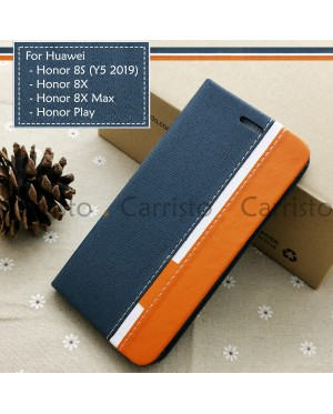 Huawei Honor 8X Max Honor Play Honor 8S Y5 2019 Horizon Flip Case Card Bag Cover Pouch Leather Casing Phone Housing