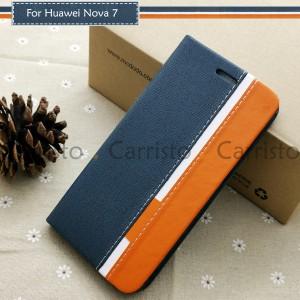 Huawei Nova 7i Nova 7 Nova 7 SE 7SE Horizon Luxury Flip Case Card Slot Bag Cover Pouch Leather Casing Phone Housing