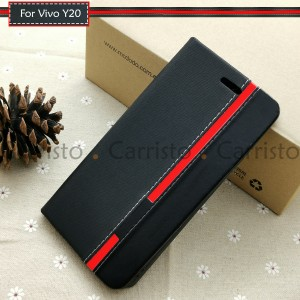 Vivo Y20 Y30 Y50 X50 Pro X50 Horizon Luxury Flip Case Card Bag Cover Stand Pouch Leather Casing Phone Mobile Housing