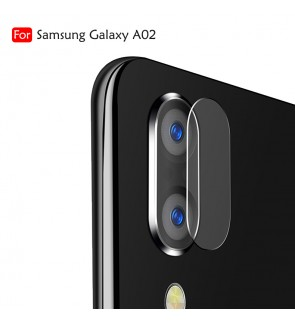 Samsung Galaxy A02 Crystal Clear Full HD Camera Lens Tempered Glass Transparent Screen Protector