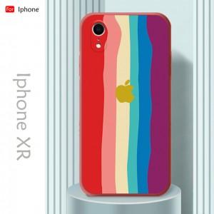 Iphone 7 Plus 8 Plus Iphone X XS Max XR Iphone 6 6s Plus Water Color Rainbow Back Case Liquid Cover Casing Phone Housing