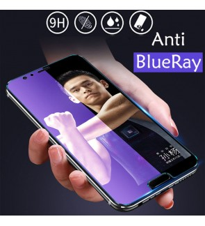 Vivo X60 Anti Blueray HD Crystal Clear Full Cover Tempered Glass Transparent Screen Protector Guard Anti FingerPrint