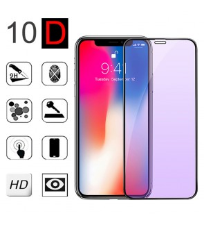 Realme C12 C15 C25 C25S Narzo 20 30A 10D Anti Blueray HD Clear Full Cover Tempered Glass LCD Guard Anti Finger Print