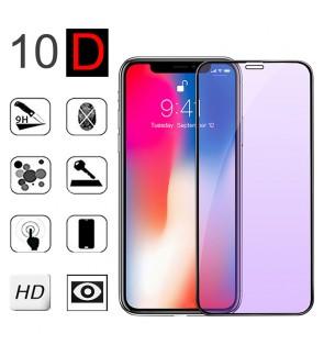 Xiaomi Redmi Note 7 10D Anti Blueray HD Clear Full Cover Screen Protector Tempered Glass LCD Guard Anti Finger Print