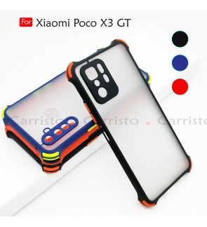 Xiaomi Poco X3 GT Phantom Shockproof Protection Case Housing Silicone Hard Back Cover Phone Mobile Casing Camera