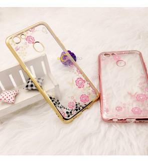 Oppo F5 A83 A71 A71K A57 R7 Lite R7S Soft TPU Secret Garden Case Cover Casing