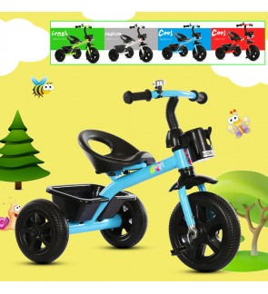 Children Kids Tricycle Bicycle For Outdoor Activites Fully Assembled