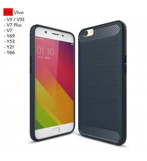 Vivo V7 Plus V5 Y66 V5S Y53 Y21 Y69 TPU Soft Hairline Case Cover Casing
