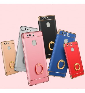 Huawei P9 P9 Plus P9 Lite Honor 5X Hard Case Cover Casing With I-Ring