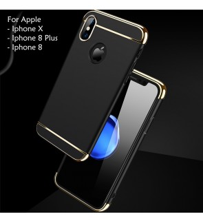 Apple Iphone X Iphone 8 Plus 3 in 1 Hard Case Cover Casing
