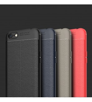 Huawei P10 Plus Y7 Prime Honor 6X Soft Leather TPU Case Cover Casing