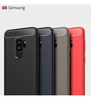 Samsung Galaxy S9 Plus J1 Ace J2 Pro 2018 Brushed TPU Soft Case Cover Casing