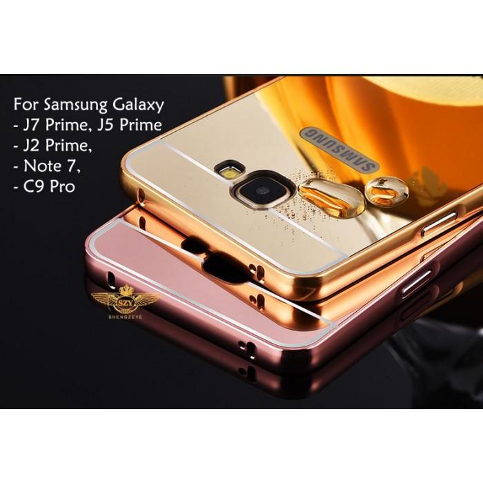 Mirror Case For Samsung Galaxy J7 Prime, J5 Prime, J2 Prime, C9 Pro