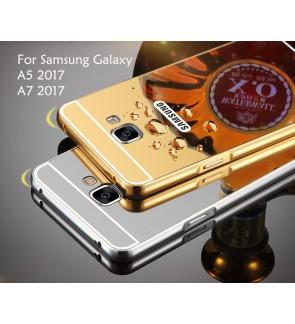 Samsung Galaxy A5 2017 A7 2017 Mirror Cover Case Casing Housing