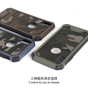 Iphone X Iphone XS Max XR Iphone 8 Iphone 8 Plus Army Case Casing Cover Housing