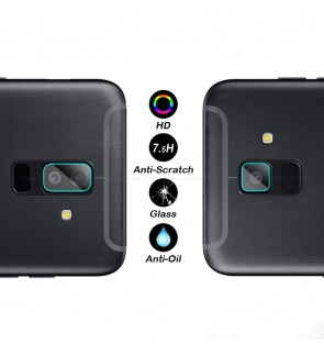 Samsung Galaxy A6 A8 2018 Camera Lens Protector Tempered Glass