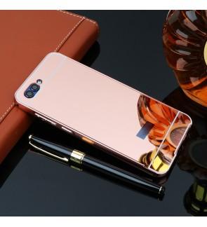 Huawei Honor 10 Nova 3E Honor 7A Mirror Metal Bumper Case Cover Casing