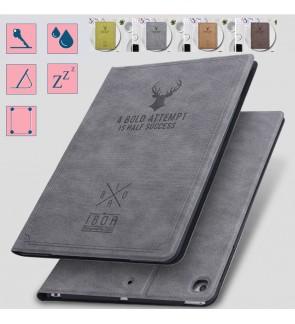 Ipad 10.2 2019 Ipad 7 Mini 5 1 2 3 4 Air 2 Ipad 9.7 Ipad 6 2018 Fabric Deer Case Cover Casing Flip Pouch