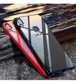 Vivo Y91 Y91i Y95 Y81 Y81i TPU Soft Case Cover Casing Housing Electroplate