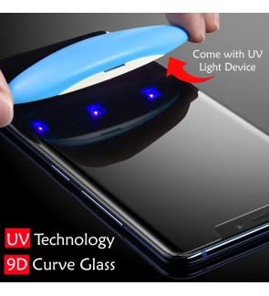 Premium Samsung S10 Plus S10+ S10E Tempered Glass Screen Protector Full Cover UV