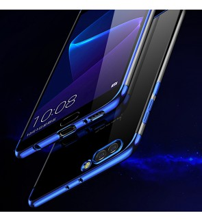 Huawei Nova 5T Honor 20 lite Y5 2019 Honor 8S Crystal Clear TPU Soft Case Cover Casing Housing Electroplate