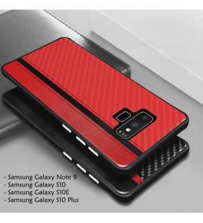 Samsung Galaxy S10E S10 Plus E S10+ Back Cover Casing Housing Carbon Fiber