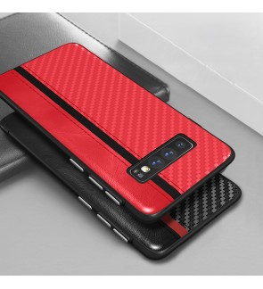 Samsung Galaxy S10E S10 E S10 Carbon Fiber Mulsae Back Case Cover Casing Mobile Phone Soft Silicone TPU Housing