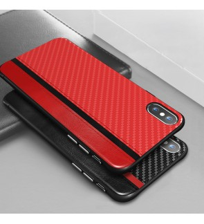 Iphone 6 6s Plus 7 8 Plus Iphone X XS Max XR Back Case Cover Casing Housing Carbon Fiber