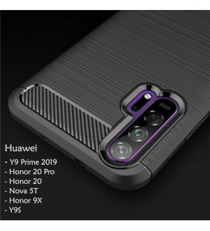 Huawei Nova 5T Y9 Prime 2019 Honor 20 Pro Honor 9X  Y9S TPU Silicone Soft Case Cover Casing Housing