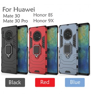 Huawei Mate 30 Mate 30 Pro Honor 8S Honor 9X Car Holder Case Cover Casing Full Protection Stand Back Housing