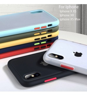 Iphone X XS XR XS Max Phantom Series Back Casing Cover Case Colorful Housing