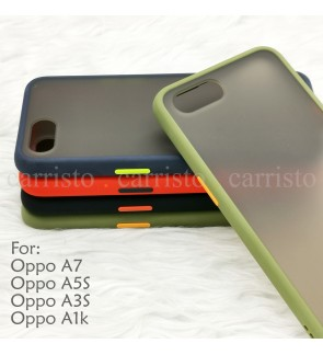 Oppo A7 A5S A3S A1K Phantom Series Back Casing Cover Case Colorful Housing