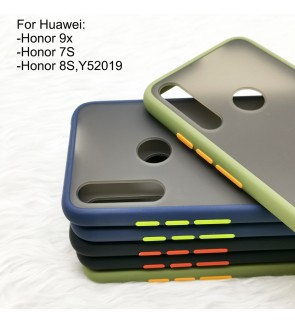 Huawei Honor 9X Honor 7S Honor 8S Phantom Series Back Casing Cover Case Colorful Housing