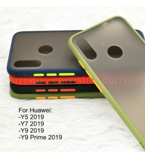 Huawei Y9 Prime 2019 Y5 2019 Y7 2019 Y9 2019 Phantom Series Back Casing Cover Case Colorful Housing