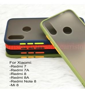 Xiaomi Redmi Note 8 Redmi 8 8A Redmi 7 7A Mi 8 Phantom Series Back Casing Cover Case Colorful Housing
