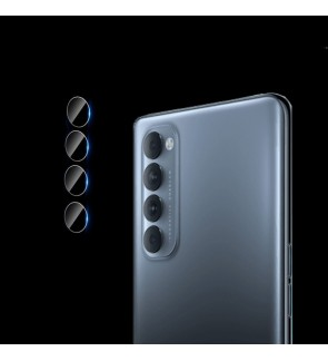 Oppo Reno 4 Pro Reno 4 A53 A12 A12E A93 Full HD Crystal Clear Camera Lens Protector Tempered Glass