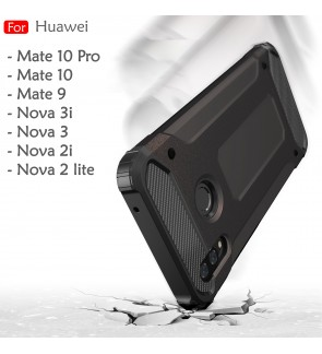 Huawei Mate 9 Mate 10 Pro Nova 2i Nova 2 Lite Nova 3 3i Rugged Armor Case Cover Hard Casing Shockproof Housing