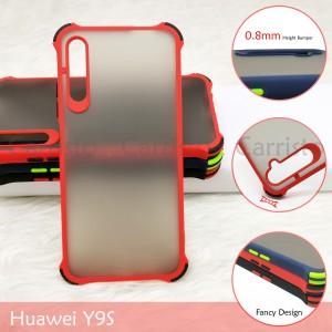 Huawei Nova 5T Y9S Honor 9X Pro Nova 3i Honor 20 Phantom Shockproof Case Housing Silicone Hard Back Cover Casing Camera