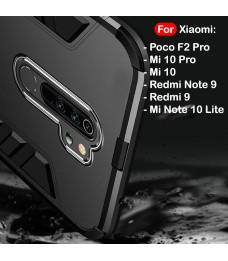 Xiaomi Redmi Note 9 Redmi 9 Mi Note 10 Lite Poco Pocophone F2 Pro Mi 10 Pro Case Cover Full Car Holder Casing Housing